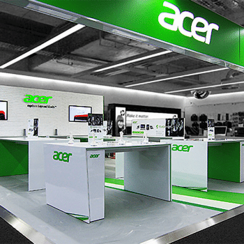 Acer shop in shop Verel