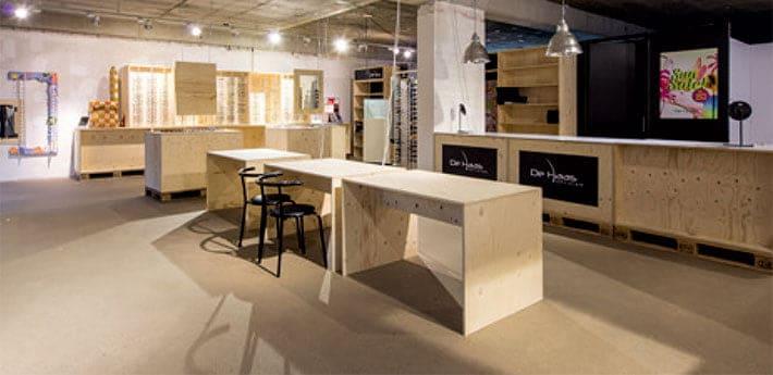 Interieur popup shop