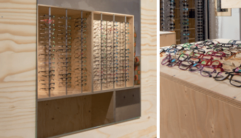 Popup shop opticien Verel