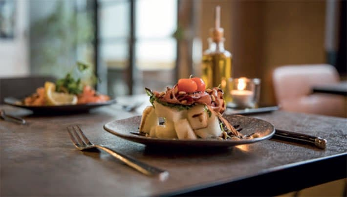 Concept inrichting restaurant