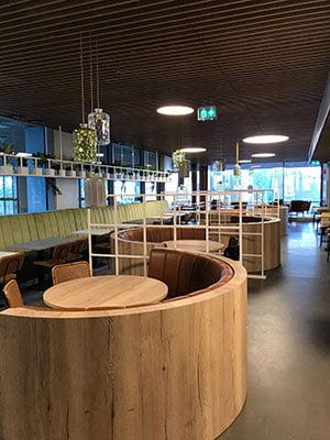 Design interieur Erasmus Rotterdam