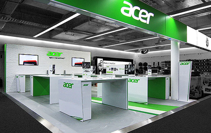 Expo Acer shop in shop