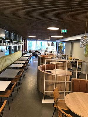 Inrichting interieur Erasmus Rotterdam