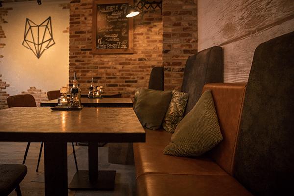 Inrichting restaurant Vosje