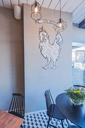 Interieur concept restaurant