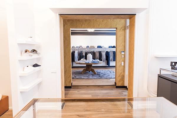 Interieurdesign kledingzaak