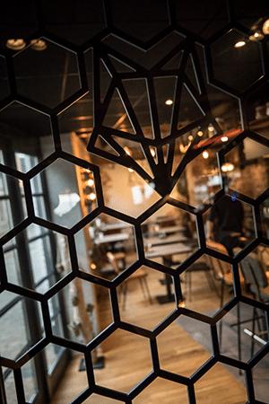 Interieurdesign restaurant Vosje
