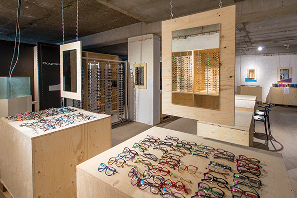 Popup-shop Opticien-De-Haas