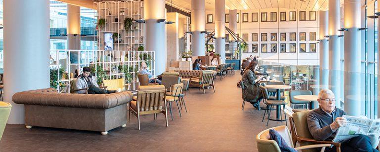 Erasmus ziekenhuis Rotterdam interieurdesign