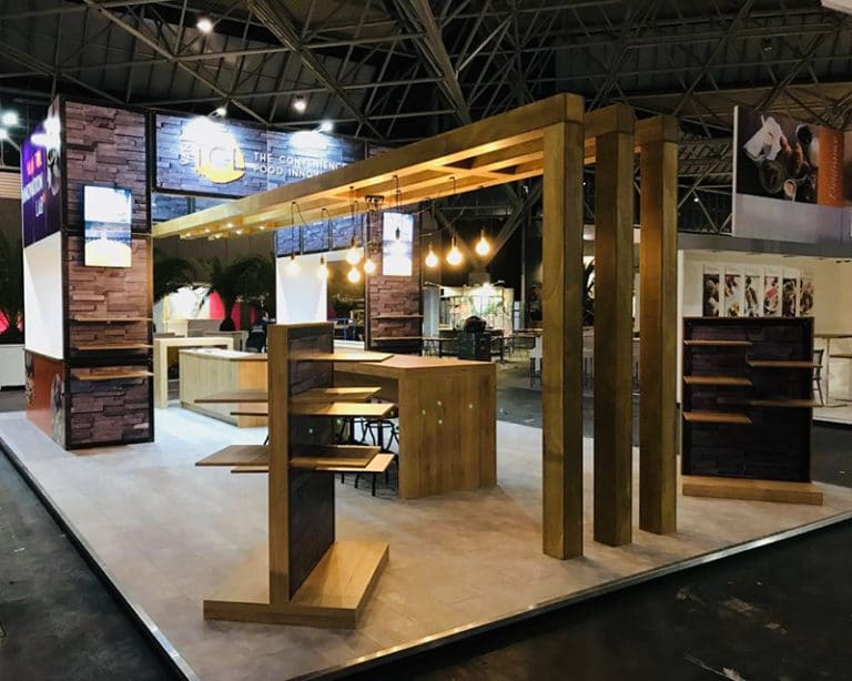 Standbouw van tol Food innovation