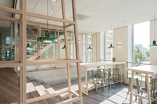 Kantoor inrichting Den Bosch