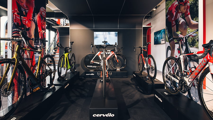 Experience center Keep Challenging Sunweb