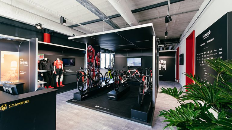 Experience center Sunweb _ Keep Challenging