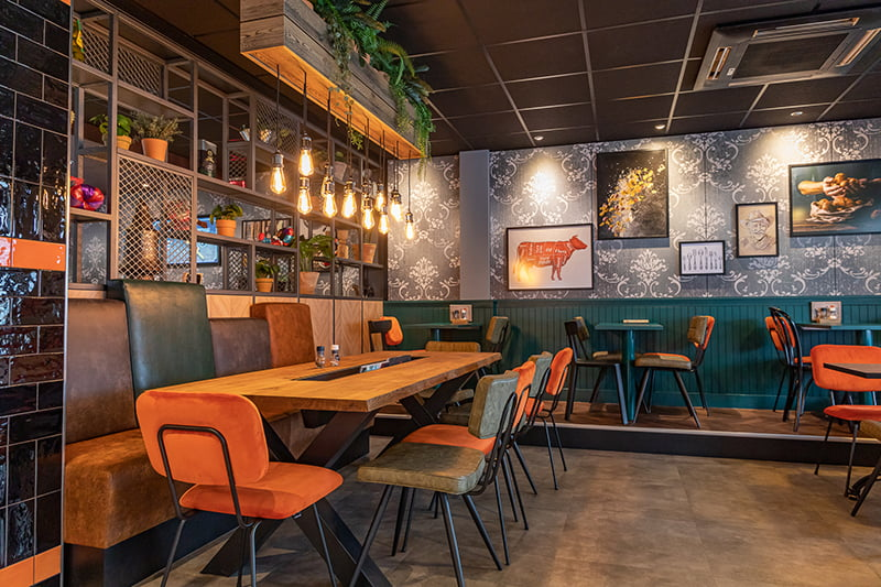 Interieurontwerp restaurant