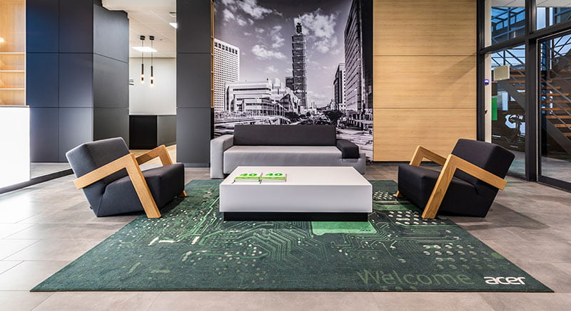 Interieur ontwerp Acer