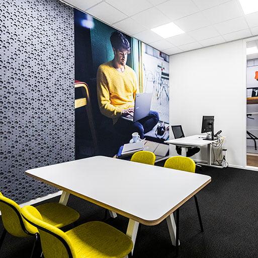 Inrichting kantoor Verel