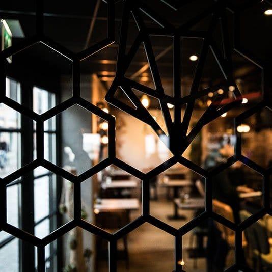 Inrichting ontwerp restaurant